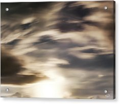 Acrylic Print featuring the photograph Night Sky 1 by Leland D Howard
