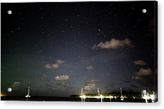 Night Sky In Bocas Del Toro Acrylic Print