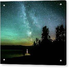 Night Sky Acrylic Print by Rose-Marie Karlsen
