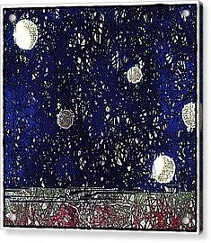 Night Sky View Acrylic Print