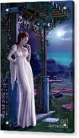 Night Acrylic Print by Sonia Verdu