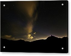 Night Time At Palo Duro Canyon State Park - Texas Acrylic Print