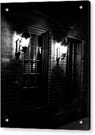 Night Time Acrylic Print by Maggy Marsh