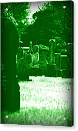 Night Vision Acrylic Print by Carl Perry