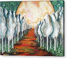 Night Walk II Acrylic Print by Latasha Becker