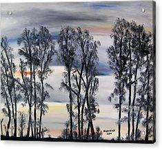 Nightfall Approaching Acrylic Print by Marilyn  McNish