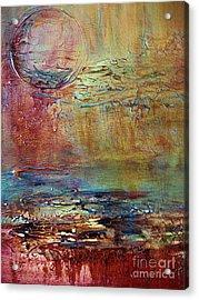 Nightfall Acrylic Print by Diana Bursztein