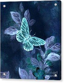Nightglow Butterfly Acrylic Print
