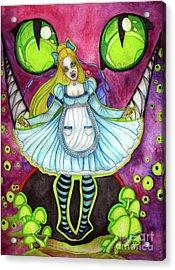 Nightmare Acrylic Print by Coriander Shea
