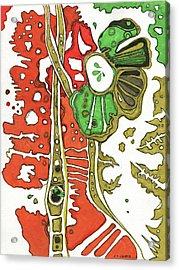 Nightmare In The Garden Acrylic Print