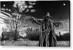 Nightmare On The Farm Acrylic Print