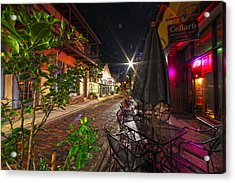 Nights In Oldtown Acrylic Print
