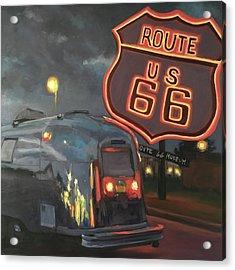 Nighttime Cruise Acrylic Print