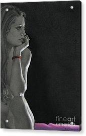 Nightwatch Acrylic Print by Kelly Borsheim
