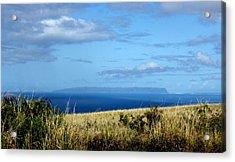 Niihau Island Acrylic Print by Annie Babineau