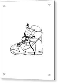 Nike Dunk 001 Acrylic Print