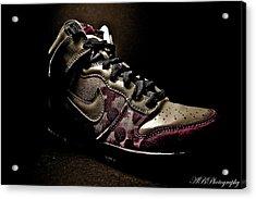 Nike Dunks Acrylic Print by Allison Badely