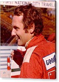 Niki Lauda 1975 Acrylic Print