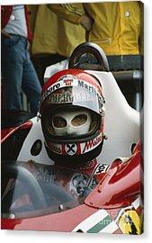 Niki Lauda. 1977 Austrian Grand Prix Acrylic Print