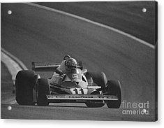 Niki Lauda. 1977 French Grand Prix Acrylic Print