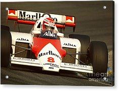 Niki Lauda. 1984 Dutch Grand Prix Acrylic Print