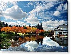 Nikka Yuko Japanese Garden Acrylic Print