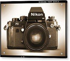 Nikon F3 Hp Acrylic Print by Mike McGlothlen