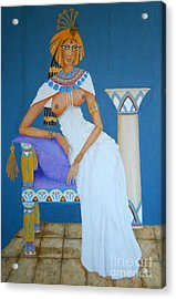 Nile Nymph -- Cleopatra, #1 In Famous Flirts Series Acrylic Print