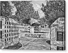 Nimitz Prop Fountain Acrylic Print