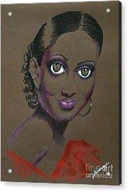 Nina Mae -- African-american Actress Portrait Acrylic Print
