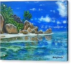 Nina's Beach Acrylic Print