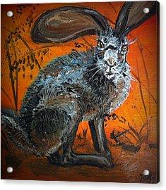 Nina's Rabbit Acrylic Print