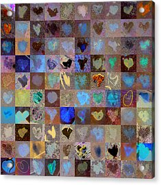 Nine Hundred Series Acrylic Print by Boy Sees Hearts