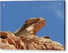 Nine Mile Canyon Utah  Acrylic Print by Christine Till