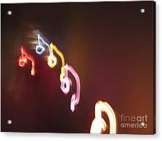 Acrylic Print featuring the photograph Nine Or Six Six Or Nine by Ausra Huntington nee Paulauskaite