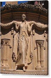 Nine-toed Maiden At The Palace Of Fine Arts In San Francisco Acrylic Print by Don Struke