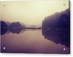 Ninh Binh Acrylic Print by Joseph Westrupp