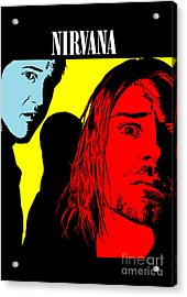 Nirvana No.01 Acrylic Print by Caio Caldas