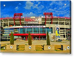 Nissan Stadium Home Of The Tennessee Titans Acrylic Print
