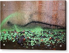 Nj Abstract Three Acrylic Print by Heather S Huston