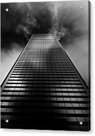 Acrylic Print featuring the photograph No 100 King St W Toronto Canada 1 by Brian Carson