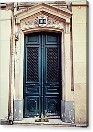 No. 104 - Paris Doors Acrylic Print