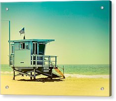 Acrylic Print featuring the photograph No 16 - Wish You Were Here by Douglas MooreZart