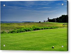 No. 18 At Harbour Town Golf Links Acrylic Print by Lyle  Huisken