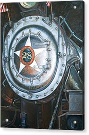 No. 28 In The Shed Acrylic Print by Gary Symington