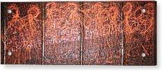 No Caption 2008 Acrylic Print by Halima Echaoui