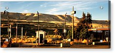 Acrylic Print featuring the photograph No Gas... by Albert Seger