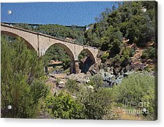 No Hands Bridge Acrylic Print by Anthony Forster