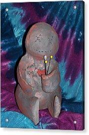 No More Acrylic Print by Ashley Patterson