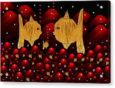No More Cesium 137 Acrylic Print by Pepita Selles